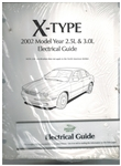X Type Electrical Guide - 2002