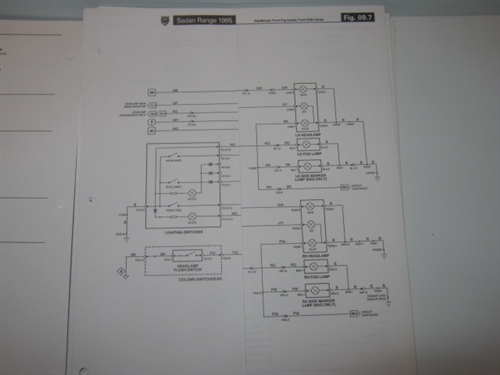 Jaguar Xj6 X300 Electrical Guide 1995 Revisions S9595seda