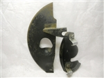 XJ6 XJS Brake Disk Shield Right C44198 CCC3628