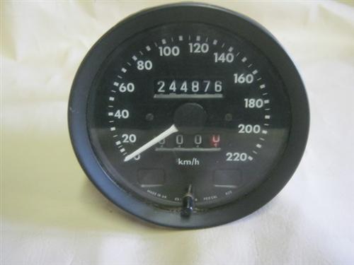 jaguar xj6 speedometer - canadian  hr dac2831