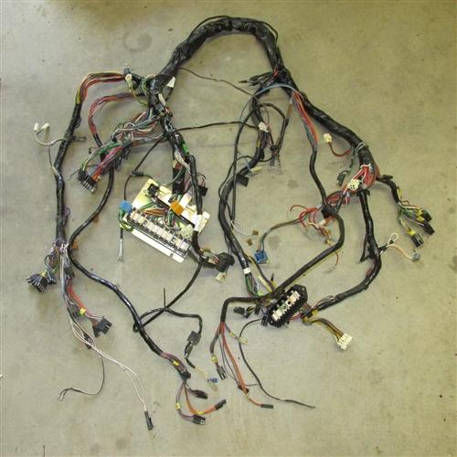 jaguar xj6 bulkhead wiring harness dac4177  jaguar parts - everydayxj