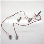 XJ6 XJ12 XKE Speedometer Rev Counter Harness C31578