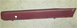 XJ6 Coupe Rear Quarter Trim Roll - Right - BD43295