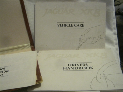 jaguar xk8 owners package handbook care security manuals rh shop everydayxj com 1998 jaguar xj8 owners manual 1998 jaguar xj8 owners manual free download