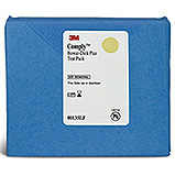 3M COMPLY Bowie-Dick Type Plus Test Pack, Early Warning Test Sheet, Disposable. MFID: 00135LF