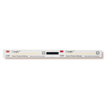 "3M COMPLY Indicator Strip For Steam, 5/8"" x 8"", Perforated, 240/box, 8 box/case. MFID: 1250"