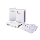 3M ATTEST Log Book with 50 Record Charts For Steam Sterilizers, Brown, For 1261 or 1262. MFID: 1266-A