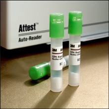 3M ATTEST Rapid Readout Biological Indicator Test Pack For EO. MFID: 1298F