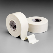 "3M MICROFOAM Surgical Tape, 3"" x 5½ yds (stretched), 4 rl/box, 6 box/case. MFID: 1528-3"