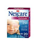 "3M NEXCARE Junior Size Eye Patch, 2.4"" x 1.8"", 20/box, 36 box/case. MFID: 1537"