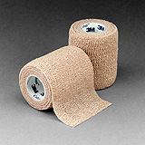 "3M COBAN Self-Adherent Wrap, 3"" x 5 yds, Tan, 24/case. MFID: 1583"