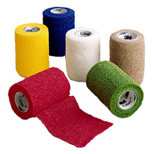 "3M COBAN Self-Adherent Wrap, 3"" x 5 yds, Assortment Pack. MFID: 1583A"