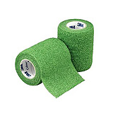 "3M COBAN Self-Adherent Wrap, 3"" x 5 yds, Green, 24/case. MFID: 1583G"