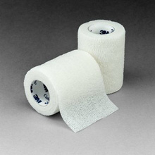 "3M COBAN Self-Adherent Wrap, 3"" x 5 yds, White, 24/case. MFID: 1583W"