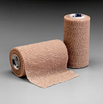 "3M COBAN Self-Adherent Wrap (longer length), 4"" x 6½ yds, Tan, 18/case. MFID: 1584L"
