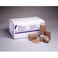 "3M COBAN Self-Adherent Wrap, 6"" x 5 yds, Latex Free (LF), Tan, Sterile, 12/case. MFID: 2086S"