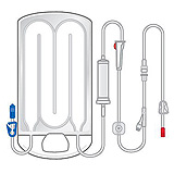 3M RANGER Standard Flow Disposable Warming Set with Extension, 10/case. MFID: 24250