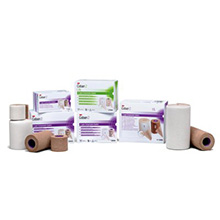 "3M COBAN Lite Compression System: Roll 1 Comfort Layer 4""x2.9 yds, Roll 2 Compression Layer 4""x5.1 yds, Green, 1/bx, 8 bx/cs. MFID: 2794N"