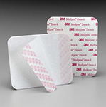 "3M MEDIPORE Soft Cloth Pre-cut Dressing Cover, 5 7/8"" x 5 7/8"", 3 sht/pad, 25 pad/box, 4 box/case. MFID: 2956"