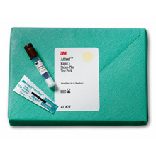 3M ATTEST Test Pack Includes: 16 Test Packs + 4 Controls, 3 Hr Readout, Brown Cap. MFID: 41382F