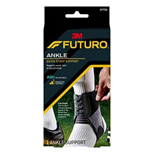 3M FUTURO SPORT Ankle Brace, Adjustable, 2/pk, 6 pk/cs. MFID: 47736EN