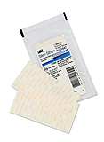 "3M STERI-STRIP Adhesive Reinforced Skin Closure, ½"" x 4"", 6 /envelope, 50 env/box, 4 box/case. MFID: R1547"