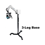 Colpo-Master I Suspension-Arm LED Colposcope, Binocular Zoom Head, 3 Leg Base. MFID: CS-103LED