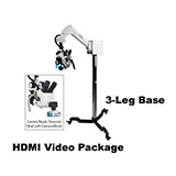 Colpo-Master I Suspension-Arm LED Colposcope, HDMI Video Package with HD Camera, 3 Leg Base. MFID: CS-103T-HD