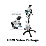 Colpo-Master II LED Colposcope, HDMI Video Package with HD Camera, 5 Leg Base. MFID: CS-205T-HD