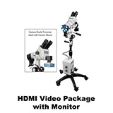 Colpo-Master II LED Colposcope, HDMI Video Package with HD Camera, & HD 1080p Monitor, 5 Leg Base. MFID: CS-205T-HDM #Promotion Available- Limited Time#