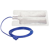 Aaron Bovie Disposable Split Adult Return Electrode (Grounding Pad) with 2.8M cable, 50/box. MFID: ESREC