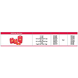 BD Sharps Collector, 8.2 Qt, Large, Red, 12/case. MFID: 305490