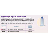 BD VACUTAINER Multiple Sample Luer Adapter, 100/box, 10 box/case. MFID: 367290