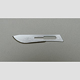 Aspen Bard-Parker Stainless Steel Blade, Sterile, Size 10, 50/box, 3 box/case. MFID: 371210