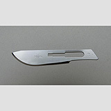 Aspen Bard-Parker Stainless Steel Blade, Sterile, Size 22, 50/box, 3 box/case. MFID: 371222