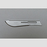 Aspen Bard-Parker Rib-Back Carbon Steel Blade, Non-Sterile, Size 10, 6/strip, 25 strips/case. MFID: 371310