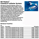 "BD Nexiva Closed IV Catheter System, 22G x 1"", 1620 (mL/hr), LF, DEHP Free, 20/sp, 4 sp/case. MFID: 383532"