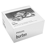 White Replacement Bulbs for Philips Philips Burton Ultraviolet Exam Light, White, 4/Box. MFID: 0001127PK