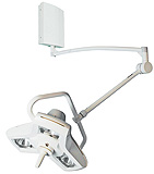 Philips Burton AIM-100 Minor Surgery Light with Wall Mount. MFID: A100W