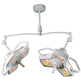 Philips Burton AIM-50 Procedure Light with Double Ceiling Mount. MFID: A50DC