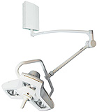 Philips Burton AIM-50 Procedure Light with Wall Mount. MFID: A50W
