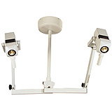Philips Burton Coolspot II Variable Spotlight w/Fleximount Double Ceiling Mount. MFID: CS316DC