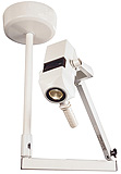 Philips Burton Coolspot II Variable Spotlight w/Fleximount Single Ceiling Mount. MFID: CS316SC