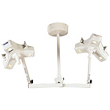 Burton Outpatient II Minor Surgery Light w/Fleximount Double Ceiling Mount. MFID: OP216DC