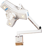 Philips Burton Outpatient II Minor Surgery Light w/Fleximount Wall Mount. MFID: OP216W