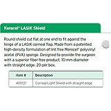 Keracel LASIK Shield, Corneal Light Shield with straight edge. MFID: 400121