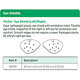 Visitec Eye Shield (Left/Right). MFID: 581019
