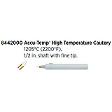 "Accu-Temp High Temperature Cautery, 1205ºC (2200ºF), ½"" shaft, Fine Tip. MFID: 8442000"