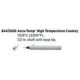 "Accu-Temp High Temperature Cautery, 1205ºC (2200ºF), ½"" shaft, Loop Tip. MFID: 8443000"