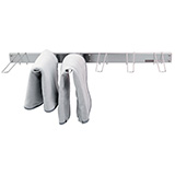 Wall Mounted Towel Rack for Chattanooga Hydrocollators. MFID: 4016